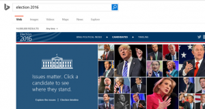 bing election 2016